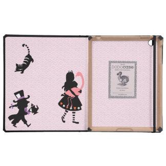 Girly Alice in Wonderland IPAD 2 3 Dodo Book Case iPad Case