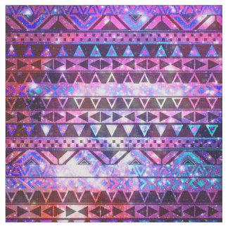 Pink aztec fabric for Nebula fabric uk