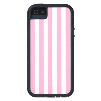 Girly Baby Pink Solid Stripes Pattern Case For The iPhone 5