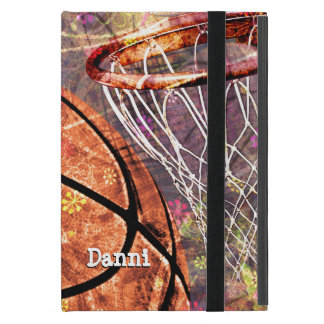 Girly Basketball Cover For iPad Mini