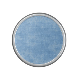 Girly Blue Watercolor Abstract Pattern Speaker