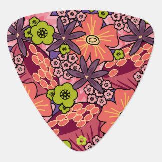 Girly Bold Floral Pattern Custom Name Boho Hippie Pick