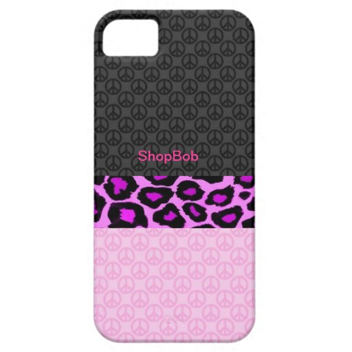 Girly camouflage iPhone 5 cases