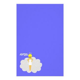 Girly Cartoon Angel Stationary Stationery