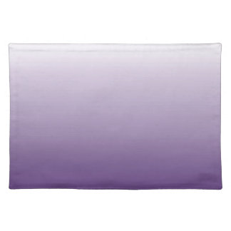 Girly Chic minimalist ombre lilac lavender purple Placemat
