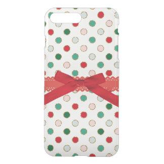 Girly Christmas Polka Dot Holiday Phone Case