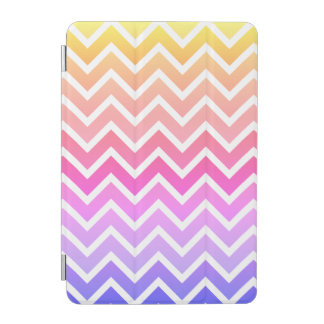 Girly Colorful Chevron Custom iPad Smart Cover iPad Mini Cover