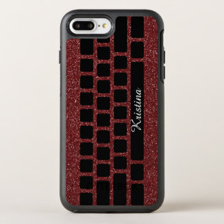 Girly Computer Keyboard Monogram OtterBox Symmetry iPhone 8 Plus/7 Plus Case