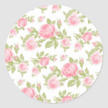 Girly Cottage Chic Romantic Floral Vintage Roses Sticker