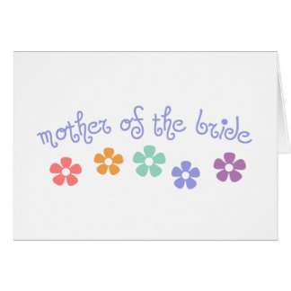 Girly-Cue Mother of Bride Card