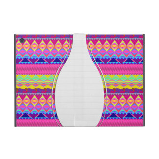 Girly cute trendy aztec andes design case for iPad mini