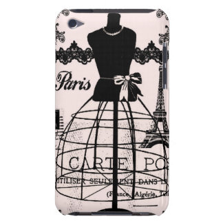 Girly Designer Inspired Paris iPod Touch Cases