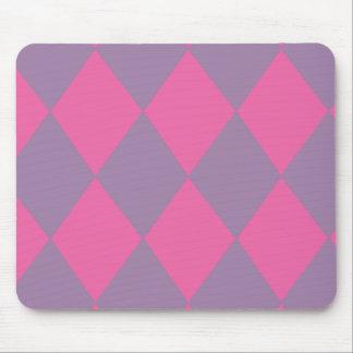 Girly Diamonds Mouse Pad