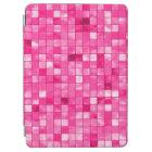 Girly Duo-tone Fuchsia Geometric Decorative Tile iPad Air Cover