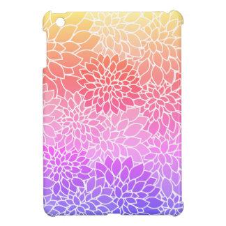 Girly Floral Design Hard Shell iPad Mini Case