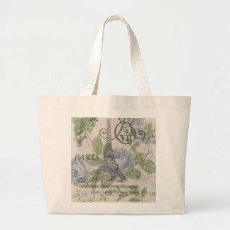 Girly floral elegant vintage Paris fashion Bag