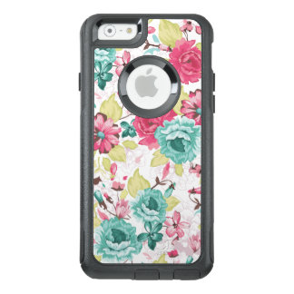 Girly Floral Pattern OtterBox iPhone 6/6s Case