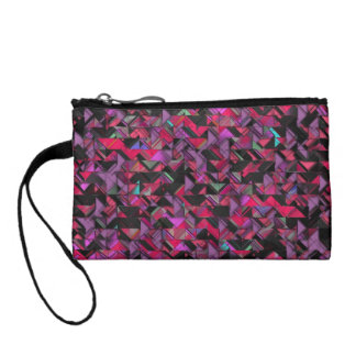 Girly Geometric Explosion Coin Purse