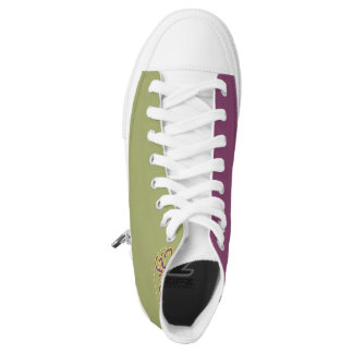 Girly Girl 2 tone - High Top Shoes Printed Shoes