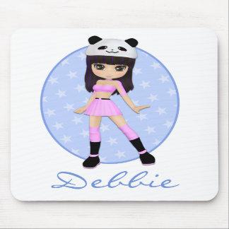 Girly Girl Debbie Custom Mousepad