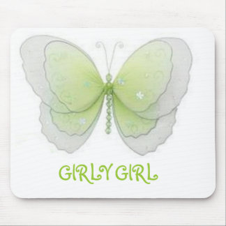 GIRLY GIRL MOUSE PAD