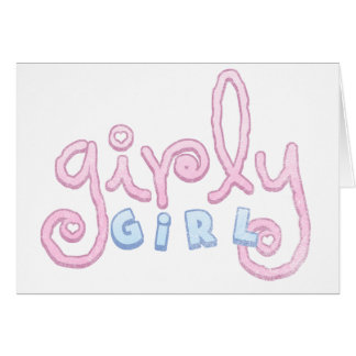 Girly Girl T Shirts Gifts Cards