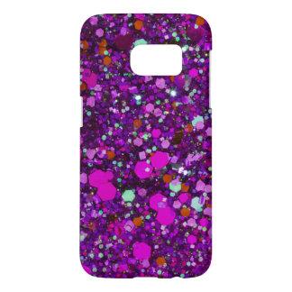 Girly glitter case