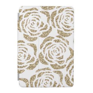 Girly Gold Glitter Roses iPad Smart Cover iPad Mini Cover