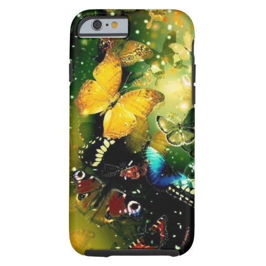 Girly gorgeous butterflies iPhone 6, Vibe Tough iPhone
