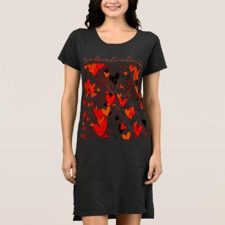 Girly Hearts Love Pattern Romantic Lovely Dress