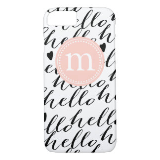 Girly Hello Case personalized