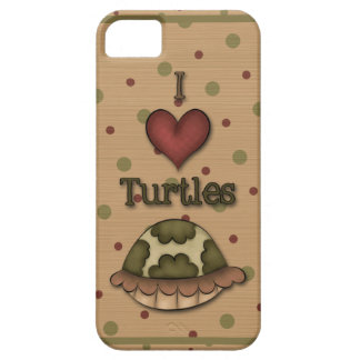 Girly I Love Turtles iPhone5 iPhone 5 Covers