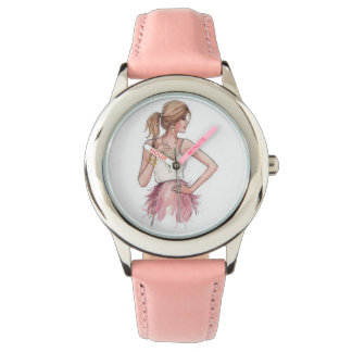 Girly in Pink Watches