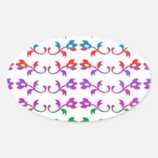 GIRLY Jewel Prints BabySoft Color Patterns Sticker