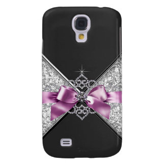 Girly jewell glitter case