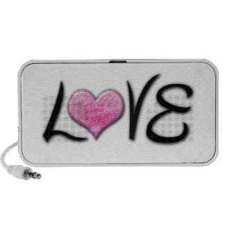 Girly LOVE Glitters Portable Speakers