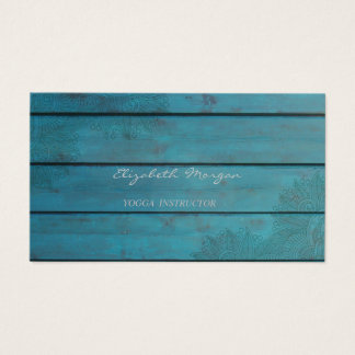 Girly Modern  Charming,Lace,Wood Texture Business Card