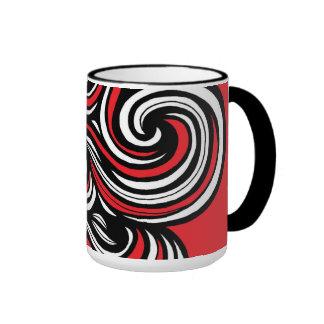 Girly Modern Classic Great Ringer Mug