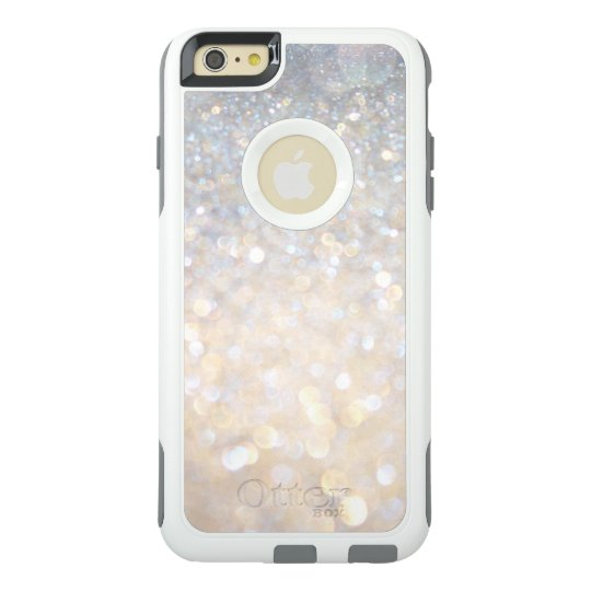 Girly Modern Gold Glitter OtterBox iPhone 6/6s Plus