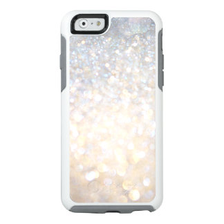 Girly Modern Gold Glitter Otterbox iPhone 6 Case