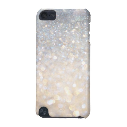 Girly Modern Gold Glitter Print 5G iPod Touch