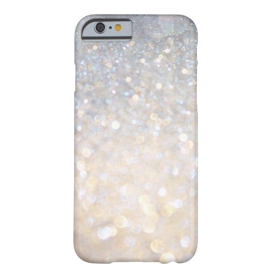 Girly Modern Pink Glitter PRINT iPhone 6 Case