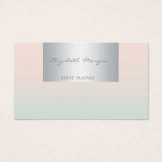Girly Modern Professional Charming Business Card