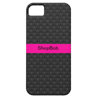 Girly peace patterns iPhone 5 cover