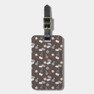 Girly Perfume Parfume Bottles Luggage Tags