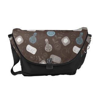 Girly Perfume/Parfume Bottles Messenger Bags