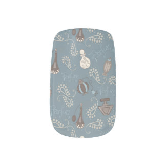 Girly Perfume/Parfume Bottles Nail Stickers