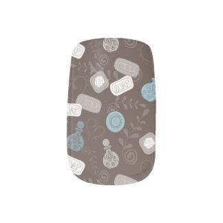 Girly Perfume/Parfume Bottles Nails Stickers