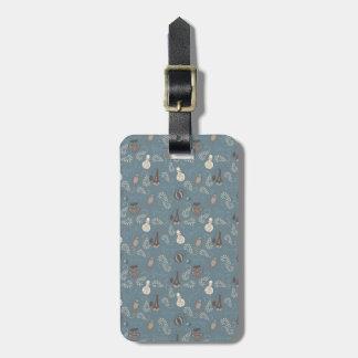 Girly Perfume Parfume Bottles Tag For Luggage