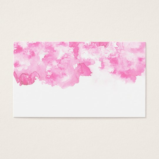 Girly pink and white modern watercolor patterns business